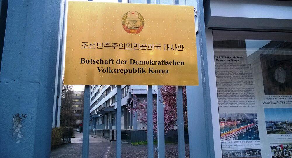 Embaixada da Coreia do Norte em Berlim, Alemanha