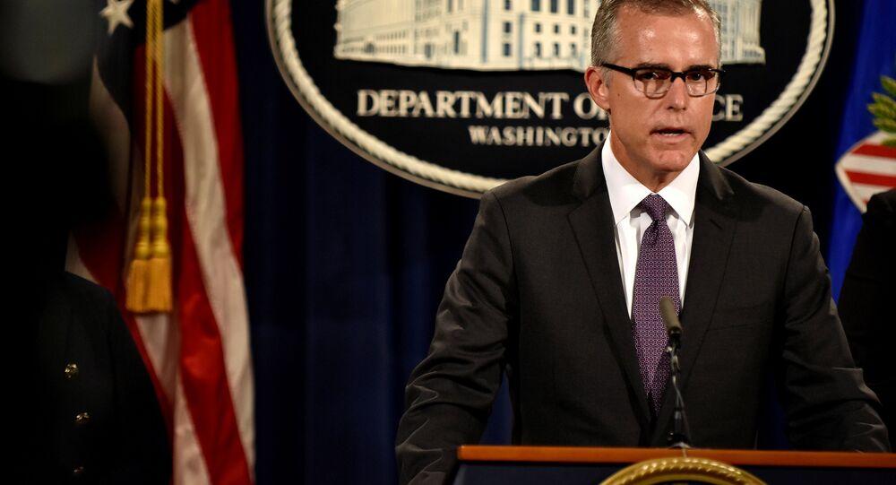 FBI Deputy Director Andrew McCabe. (File)