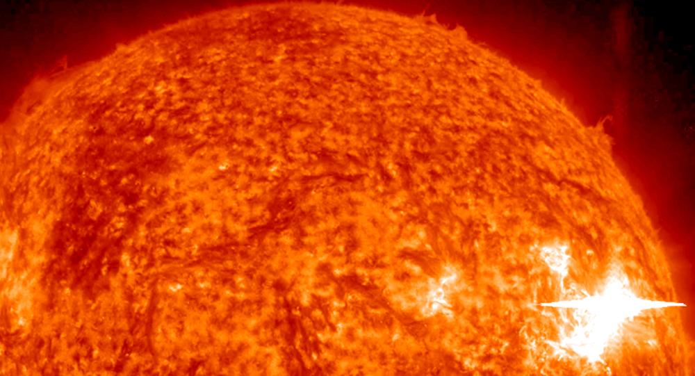 Imagem do Sol da missão espacial STEREO