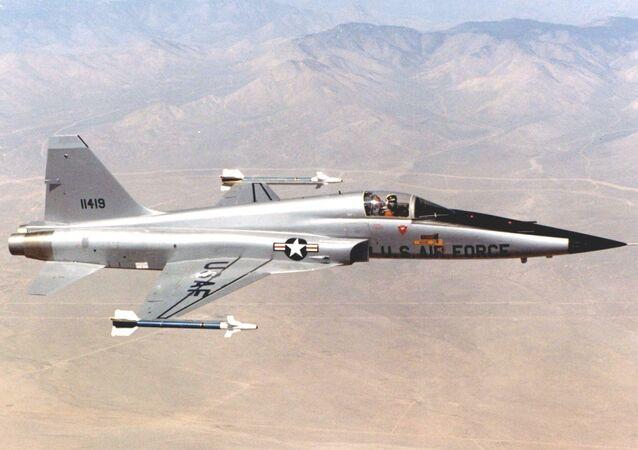 Avião F-5E Tiger II (imagem de arquivo)