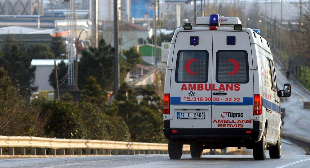 Ambulância turca (foto de arquivo)