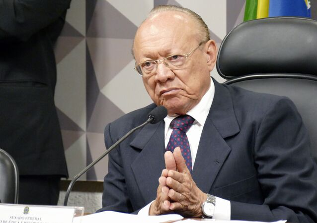 João Alberto Souza, presidente do Conselho de Ética do Senado Federal do Brasil