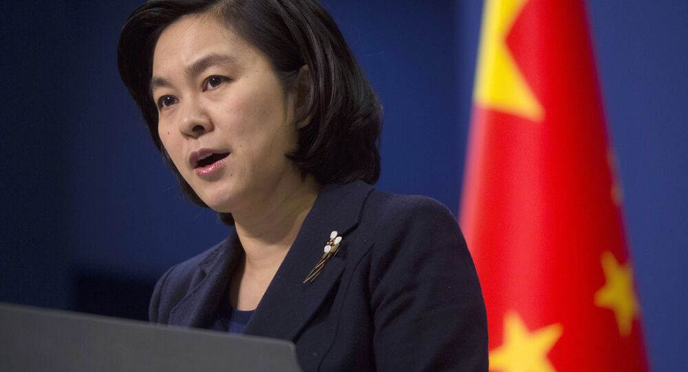 Porta-voz do Ministério das Relações Exteriores da China, Hua Chunying