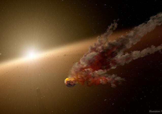 Cintilação inexplicável da estrela KIC 8462852