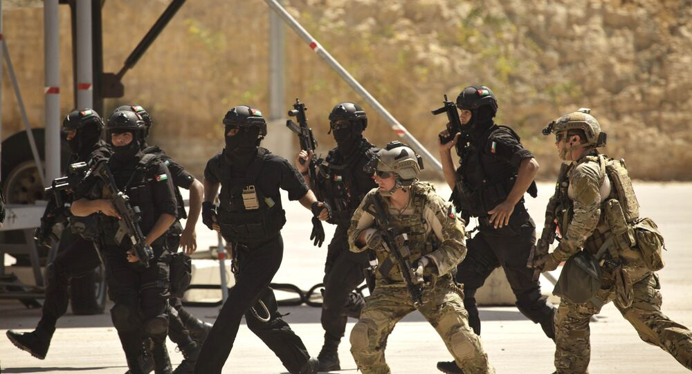 Forças especiais dos EUA e Jordânia (foto de arquivo)