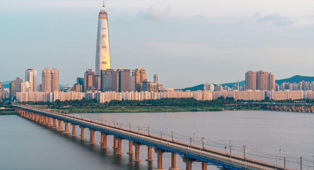 Lotte World Tower em Seul