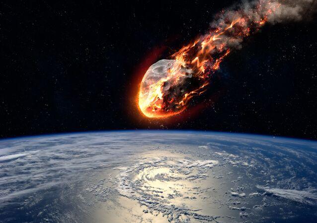 Um asteroide aproxima-se da Tierra