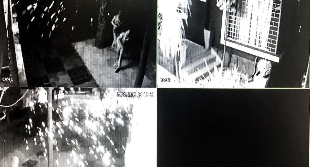 Imagens de câmera flagraram atentado contra sede do PT no Paraná