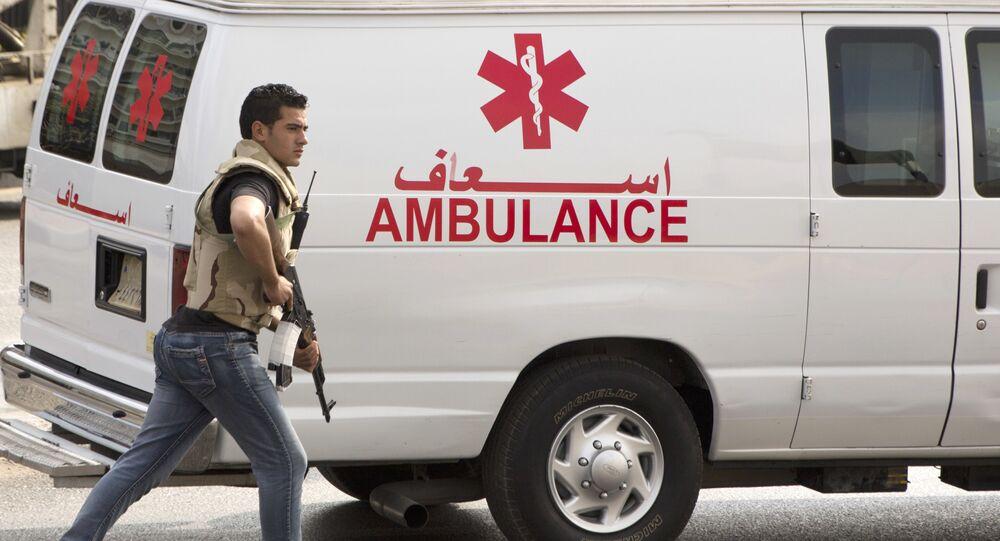 Ambulância egípcia (foto de arquivo)