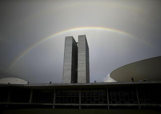 Congresso Nacional, em Brasília, Brasil