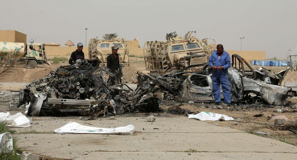Consequências de explosão de carro-bomba