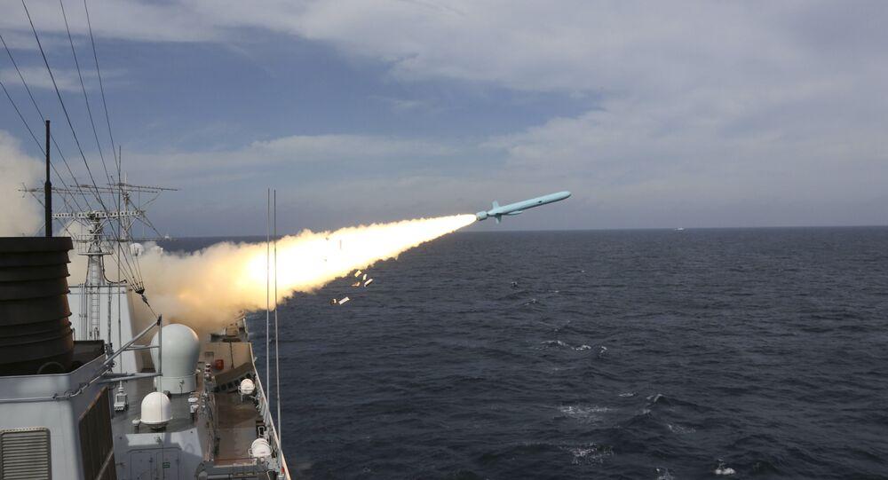 Lançamento de míssil na China (arquivo)