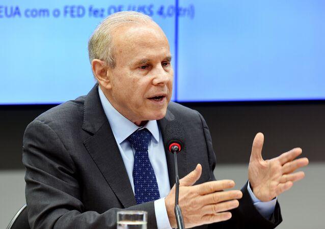 Former Brazilian Economy Minister Guido Mantega (File)