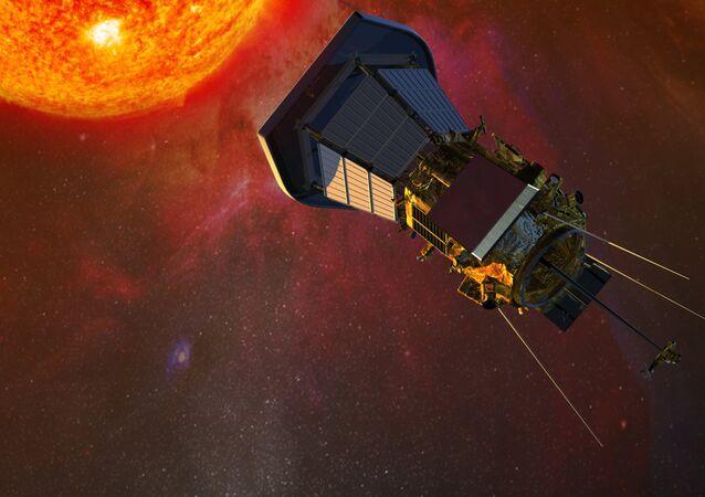 A Solar Probe Plus da NASA aproxima-se para o Sol