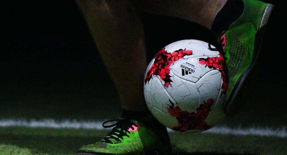 Apresentação de uma nova bola para Copa das Confederações