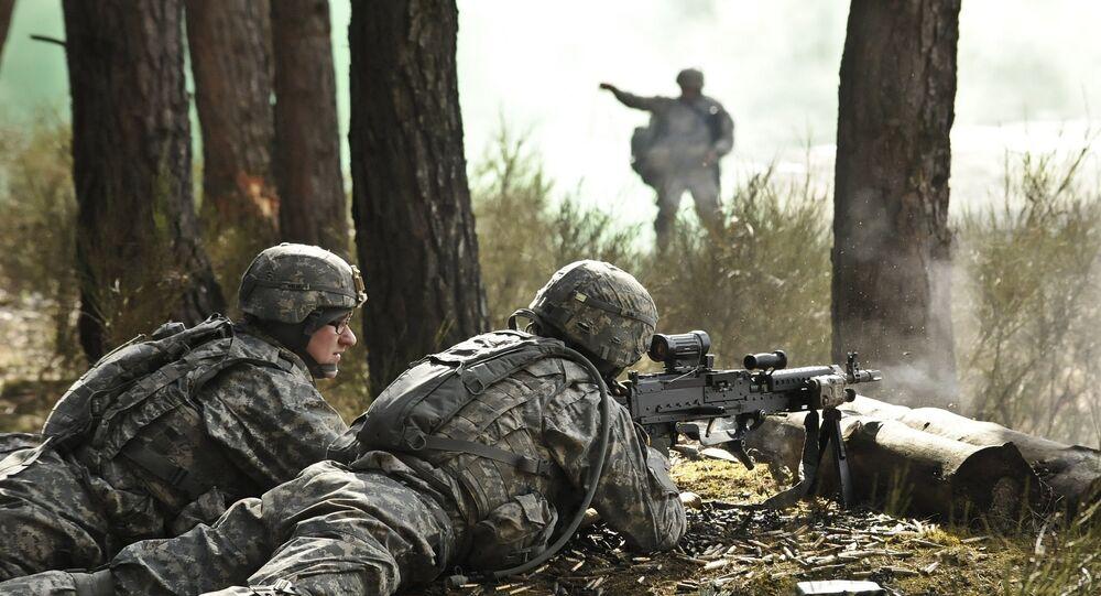 Soldados dos EUA na Europa