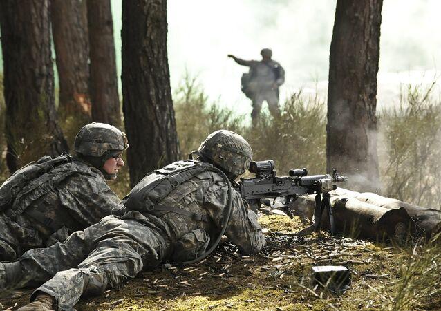 Soldados dos EUA na Europa (foto de arquivo)