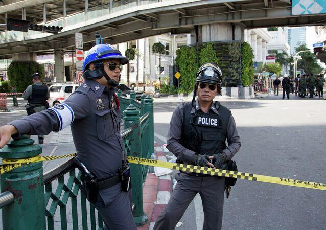 Polícia da Tailândia