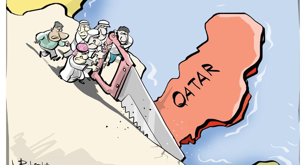 Quando os velhos amigos decidem cortar o Qatar