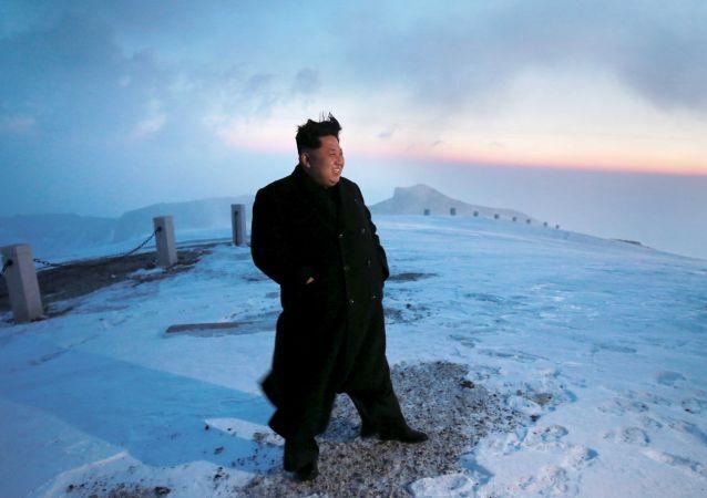 Líder norte-coreano, Kim Jong-Un (arquivo)