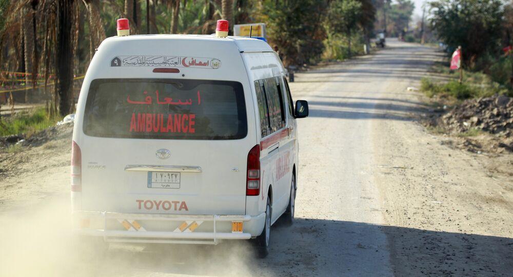Ambulância iraquiana (imagem referencial)