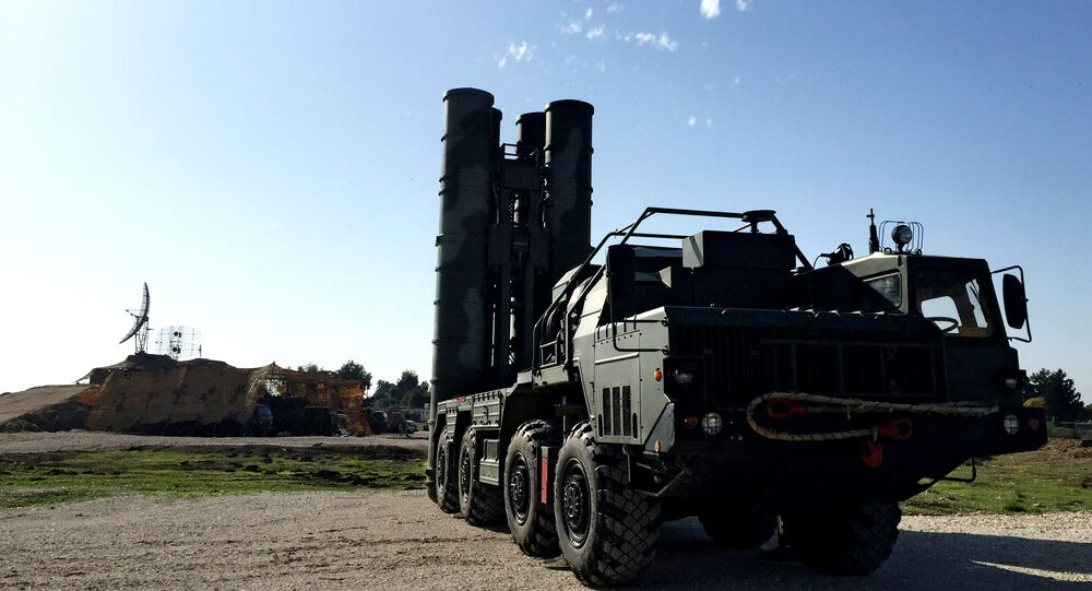 O sistema da defesa antiaérea S-400
