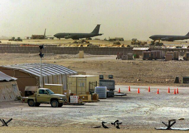 Al-Udeid, a base militar dos EUA no Qatar