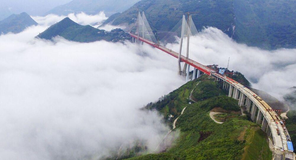 Uma ponte na China