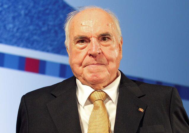 Ex-chanceler da Alemanha Helmut Kohl