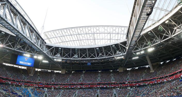 Estádio de São Petersburgo, um dos mais modernos do mundo