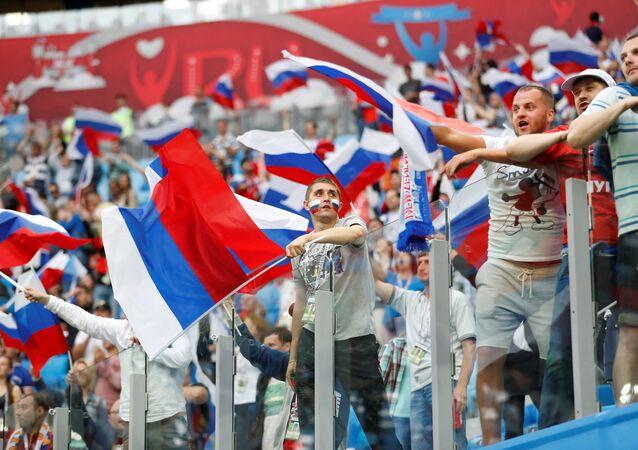 Torcedores russos