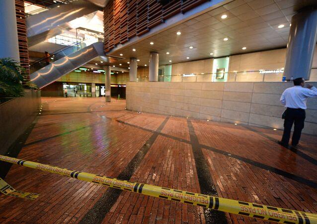 Explosão no Centro Cultural Andino, em Bogotá, Colômbia, seria um ataque terrorista, de acordo com autoridades locais