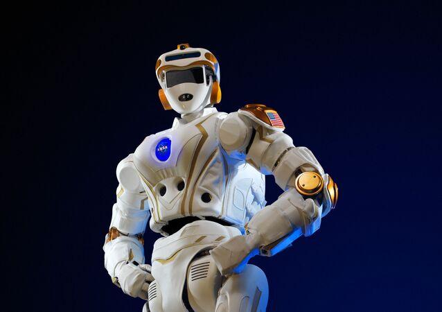 O robô-humanoide Valkyrie que no futuro será enviado para Marte