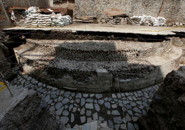 Templo asteca é encontrado no meio da Cidade do México (imagem de referência)