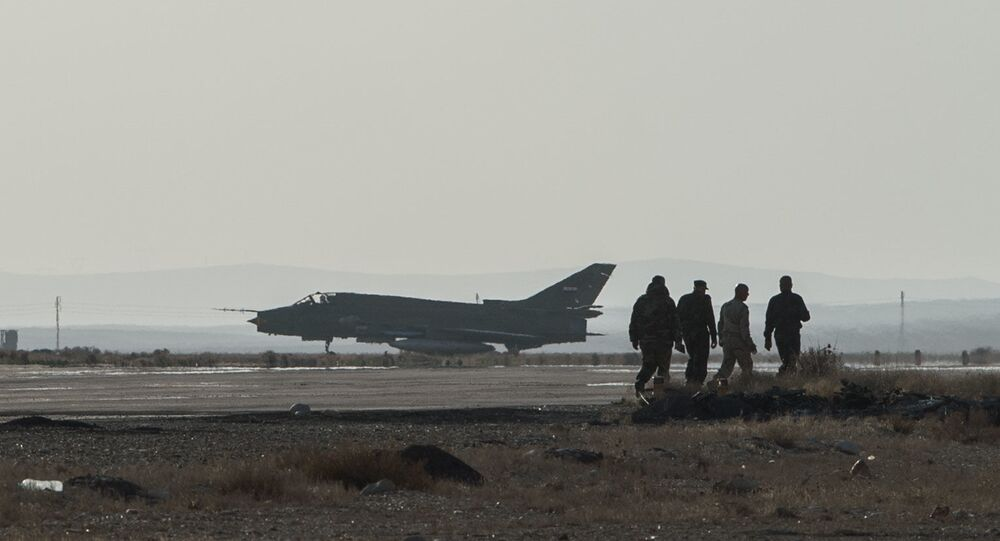 Su-22 da Força Aérea síria