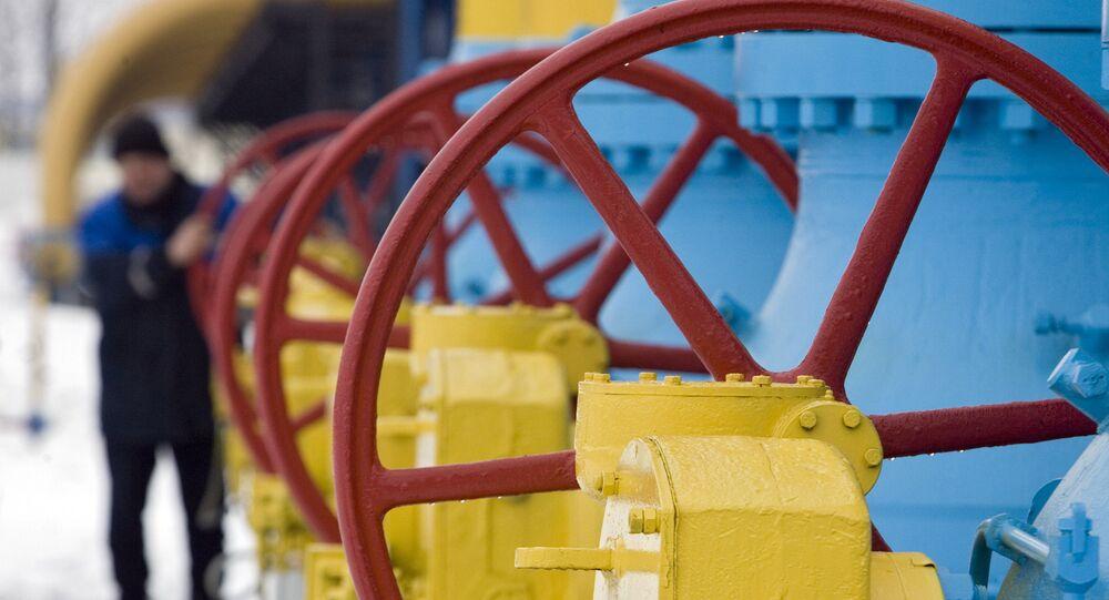 Uma das usina da Gazprom, foto de arquivo