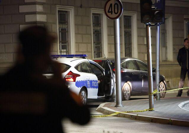 Autoridades investigam ataque a delegacia da cidade bósnia de Zvornik