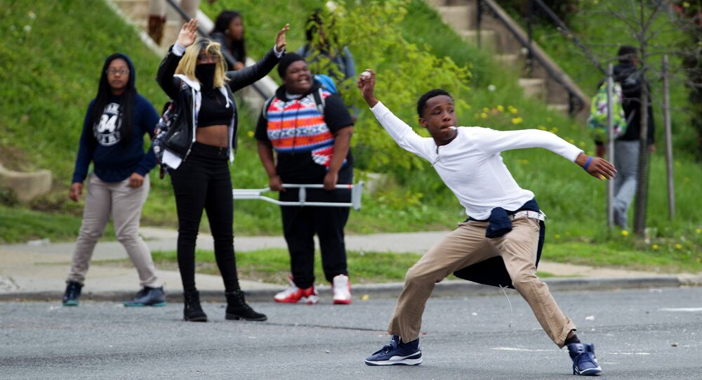 Manifestações em Baltimore pela morte de Freddie Gray