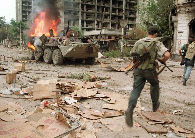 Primeira Guerra da Chechênia