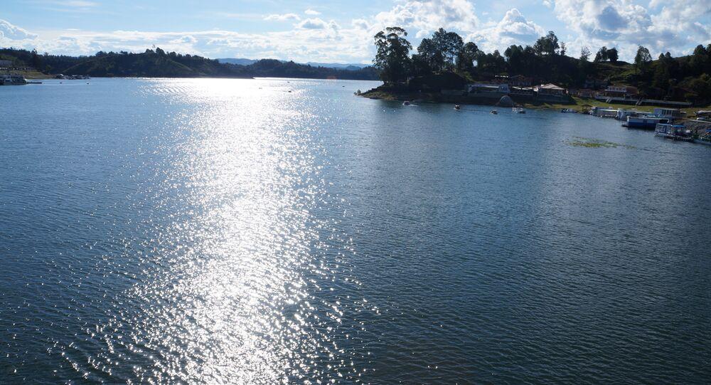 Vistas del embalse de Guatapé en Colombia (archivo)