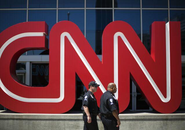 Sede do canal CNN em Atlanta.