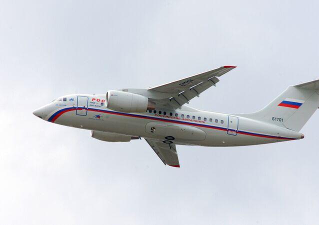 Avião russo An-148 (foto de arquivo)