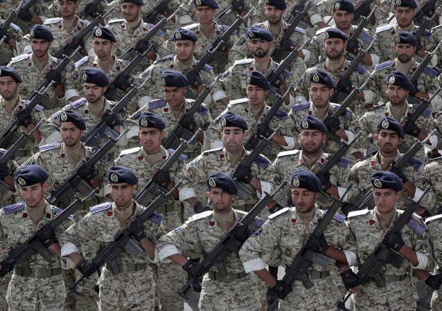 Exército iraniano, foto de arquivo