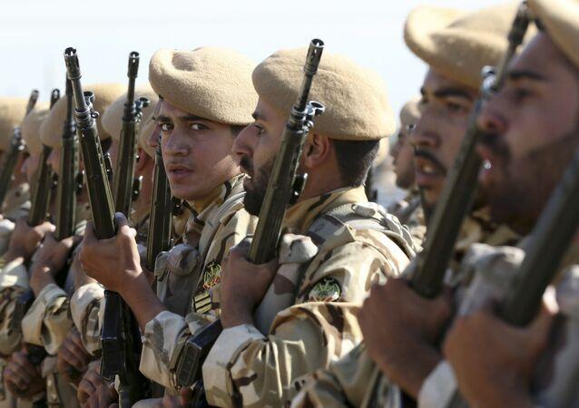 Militares iranianos, foto de arquivo