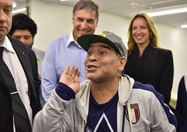 Diego Maradona em Moscou