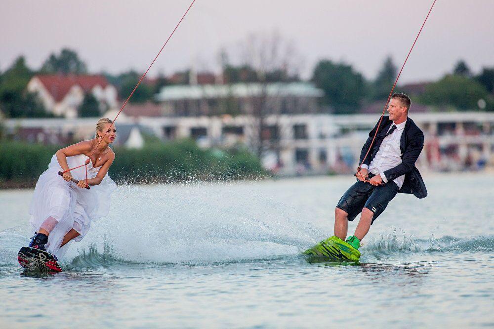 Casamento Wake, trabalho do fotógrafo húngaro Balazs Beli