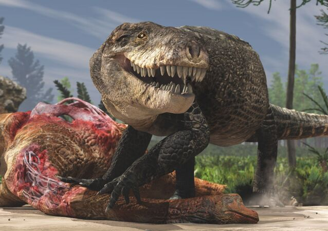 Razana, crocodilo gigante