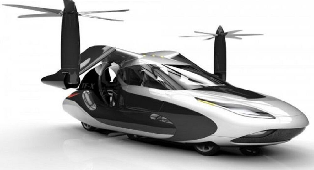 Coche volador TF-X