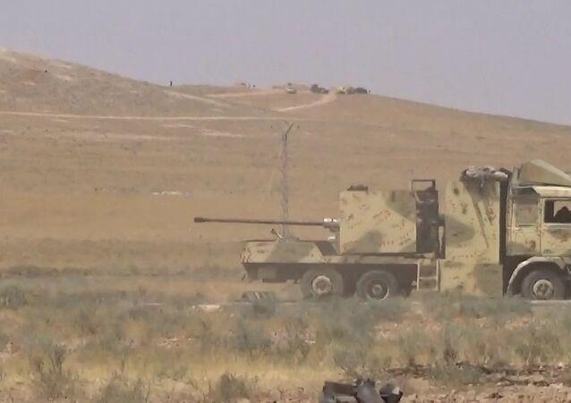 Exército sírio avança em Hama