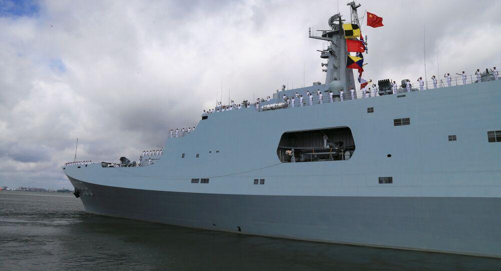 Militares chineses partem para Djibuti